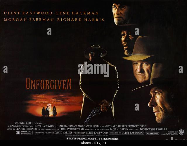 Unforgiven Poster Unforgiven 1992 Warner...