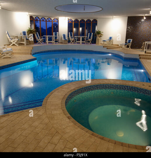 Jacuzzi indoor stock photos jacuzzi indoor stock images for Private indoor swimming pools