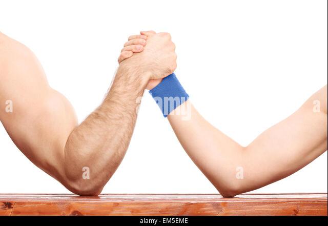 Uneven arm muscles