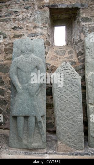 Carved Stone Slab : Carved grave slabs stock photos