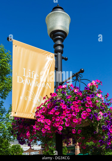 Bozeman downtown stock photos bozeman downtown stock for Flower delivery bozeman mt