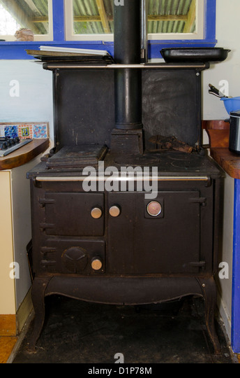An Old Fashioned Kitchen Oven.   Stock Image