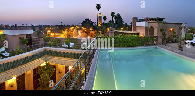 Rooftop swimming pool stock photos rooftop swimming pool for Rooftop swimming pool