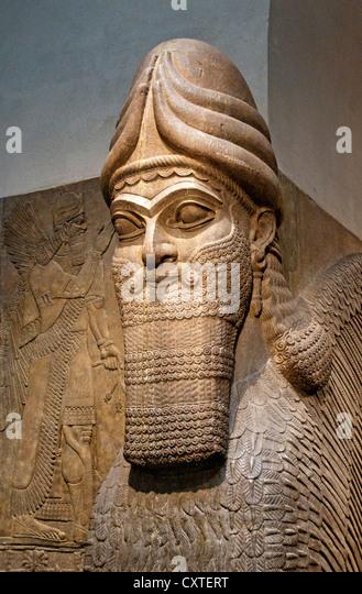 ashurnasirpal ii human headed winged lion Human-headed winged lion (lamassu), b neo-assyrian period, reign of  ashurnasirpal ii excavated at nimrud (ancient kalhu), northern mesopotamia  alabaster.