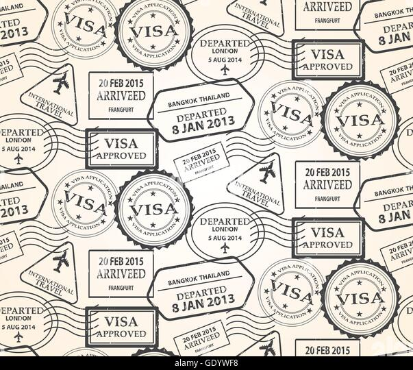 Photo Collection Travel Stamp Wallpaper