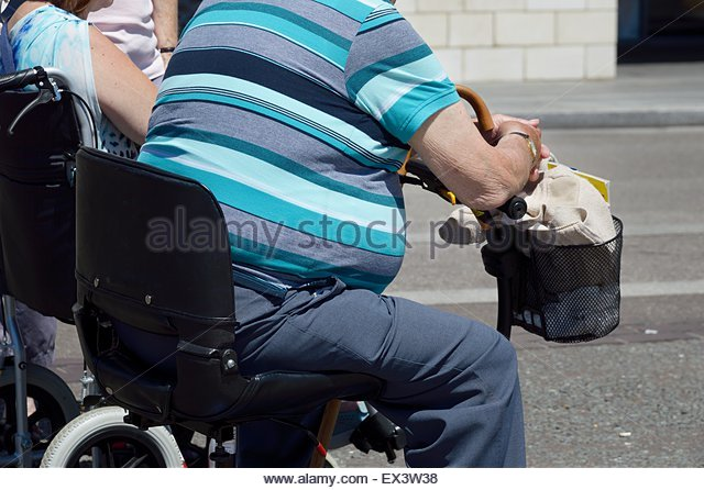 Obese Mobility Scooter Stock Photos & Obese Mobility ...