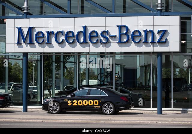 Gls stock photos gls stock images alamy for Ontario mercedes benz dealerships