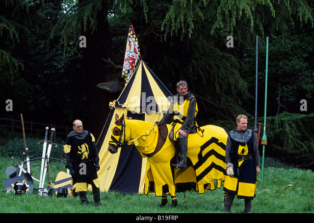England Leicestershire Belvoir Castle. A jousting tournament at the english stately home of & Jousting Tent Stock Photos u0026 Jousting Tent Stock Images - Alamy