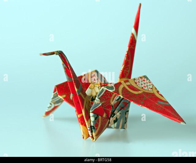 Origami Crane Stock Photos & Origami Crane Stock Images ... - photo#29