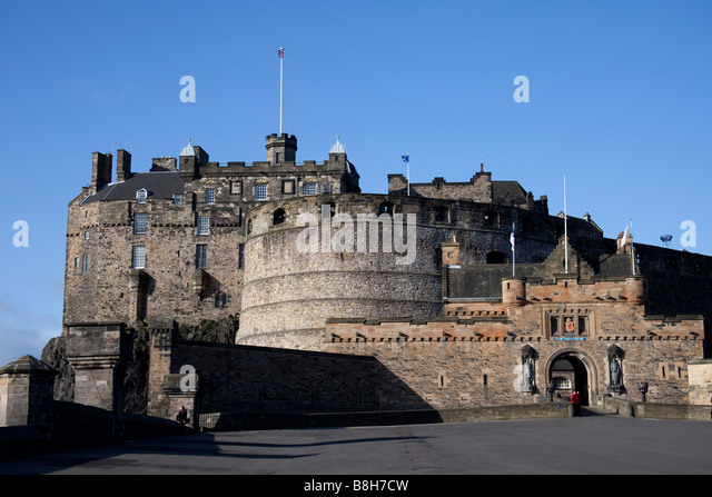 stock edinburgh castle - photo #19