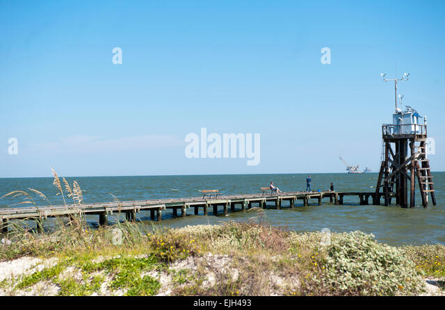 Dauphin island alabama stock photos dauphin island for Dauphin island fishing pier