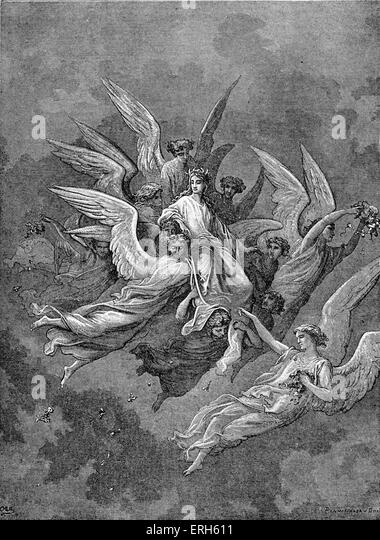 purgatory and paradise in divine comedy by dante The narrative describes dante's travels through hell, purgatory, and paradise or heaven,  the divine comedy finishes with dante seeing the triune god.