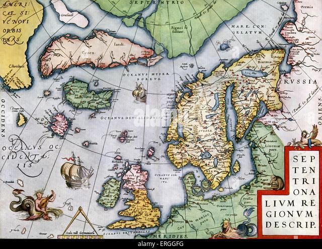 Globe Map Arctic Circle Stock Photos Globe Map Arctic Circle - Map of arctic circle