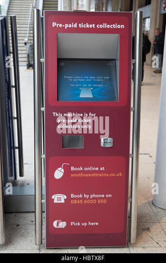 self service ticket machine