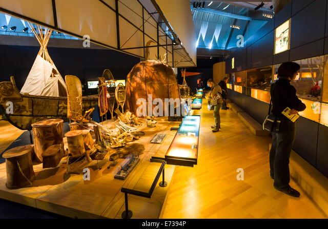 Quebec city museum stock photos quebec city museum stock for Quebec city museum of civilization