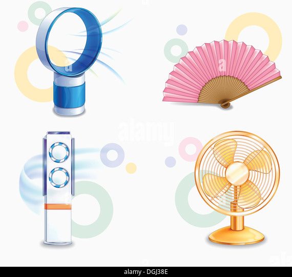 Electric Fan Cut Out Stock Photos amp