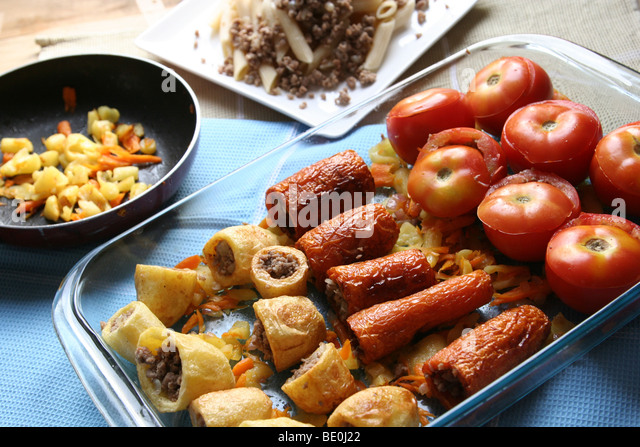 Traditional greek salad stock photos traditional greek for Authentic mediterranean cuisine