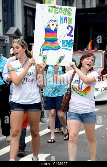 Gay pride parade new york 2009