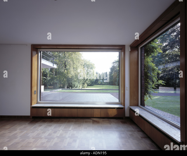 haus lange mies van der rohe stock photos haus lange mies van der rohe stock images alamy. Black Bedroom Furniture Sets. Home Design Ideas