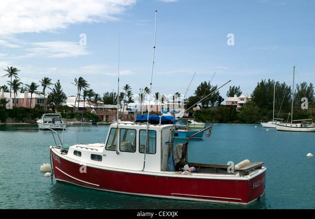 Boat bermuda stock photos boat bermuda stock images alamy for Fishing in bermuda