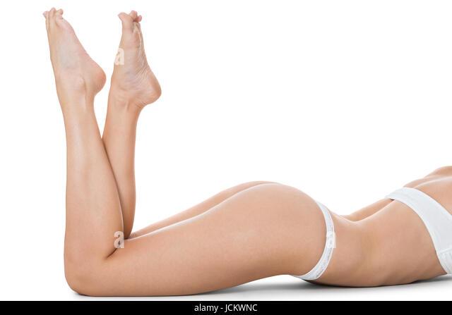 Nackte Frauen in verkommenen Posen