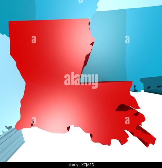 Usa Map Louisiana - 1804 us map
