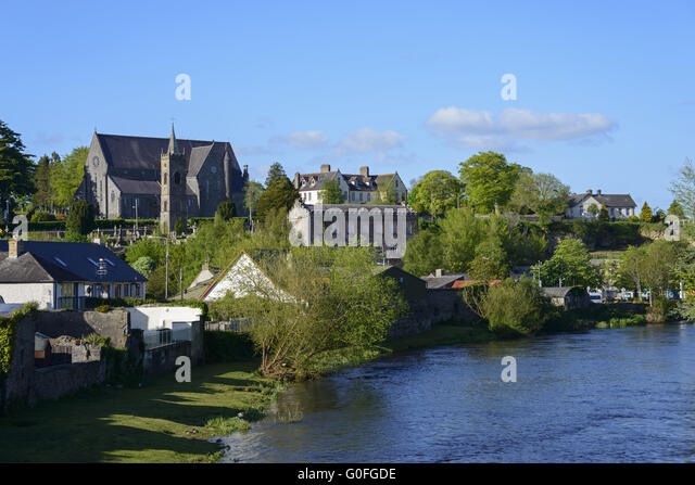 Nice Backyard Thomastown : Kilkenny Stock Photos & Kilkenny Stock Images  Alamy