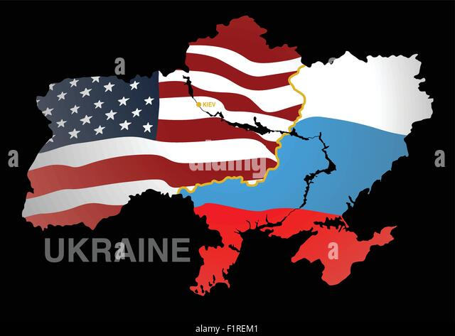 Ukraine Russia Map Stock Photos Ukraine Russia Map Stock Images - Maps ukraine to us