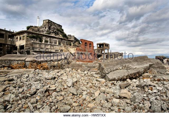 Hashima Island Stock Photos & Hashima Island Stock Images - Alamy
