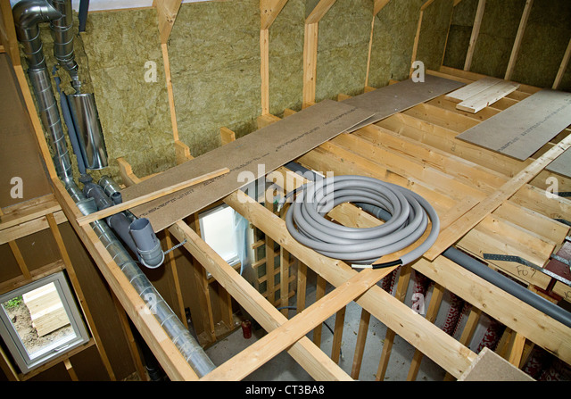 Frame House Construction Stock Photos & Frame House ...