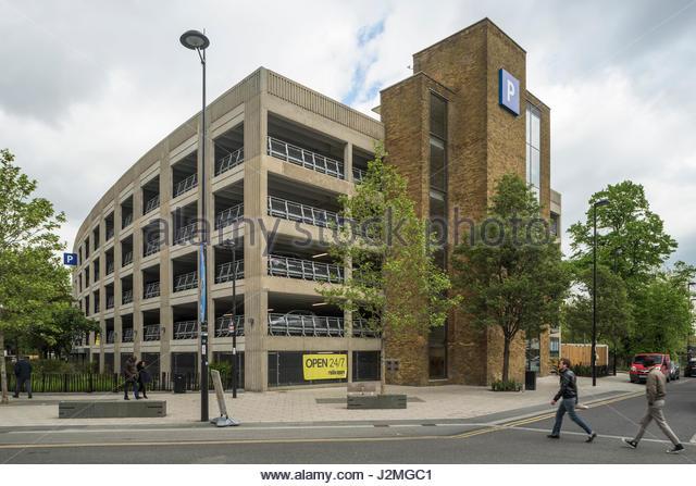 Ruskin Car Park Croydon