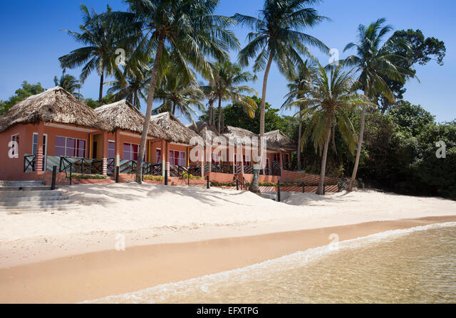 Small Resort Complex On The Beach Bamboo Gian Dau Phu Quoc