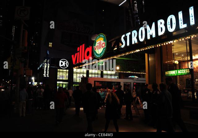 Italian Restaurants In Nd Street