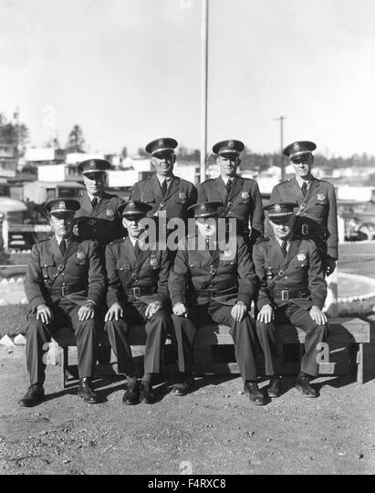 Aec Atomic Energy Commision Patrol Officers 1944 Oak Ridge The Town Of Oak