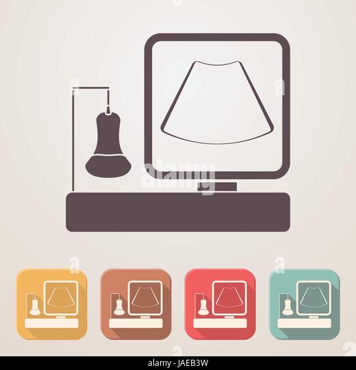 Ultrasound Machine Stock Vector Images Alamy