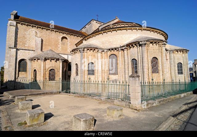 Church saint hilaire stock photos church saint hilaire for Vienne poitiers