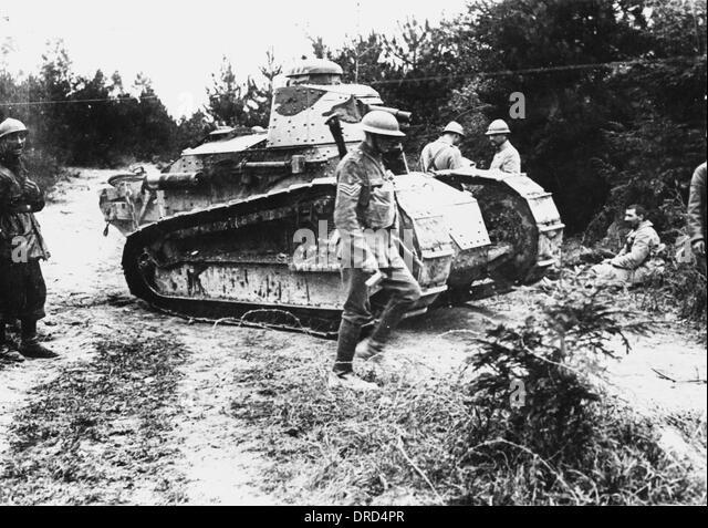 Tank Ww1 Wwi Stock Photos & Tank Ww1 Wwi Stock Images - Alamy
