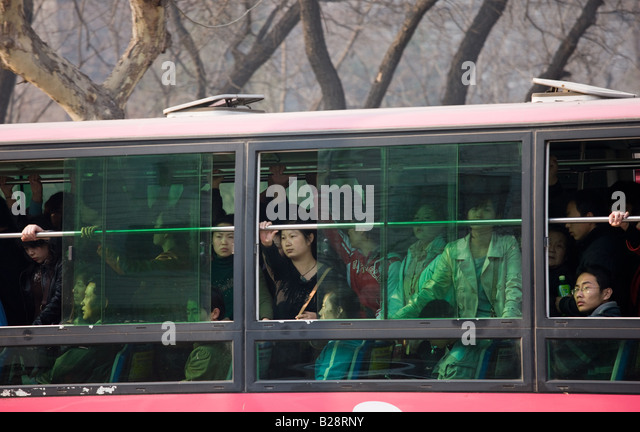 overcrowded buses stock photos overcrowded buses stock images alamy. Black Bedroom Furniture Sets. Home Design Ideas