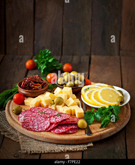 how to create an antipasto platter or a cheese platter