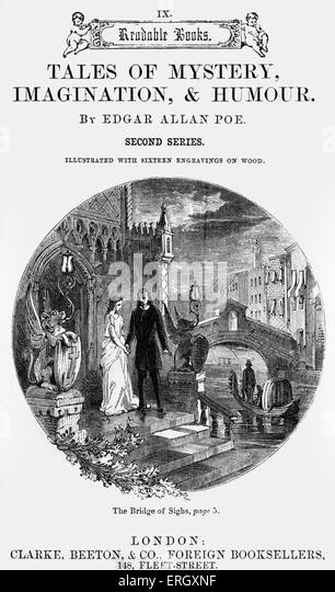 bridge of sighs by edgar allan poe essay Thomas hood (23 may 1799 – 3 may 1845) was an english poet, author and humorist, best known for poems such as the bridge of sighs and the song of the shirt hood wrote regularly for the.