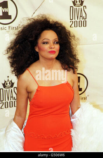 Singer diana ross at the vh1 divas 2000 stock photos for Diva 2000