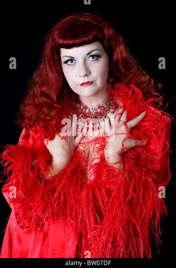 Female Singer With Red Hair Stock Photos & Female Singer ...
