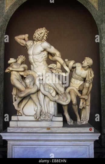 an analysis of the monumental statue laocoon and his two sons Two of the most critical themes of the hellenistic sculptures were emotion and action, all of which the laocoön and his sons sculpture is able to capture well from the sculpture, viewers can also deduce the agony of defeat, running head: laocoön & pieta 4 another important element of sculpture during the hellenistic period.