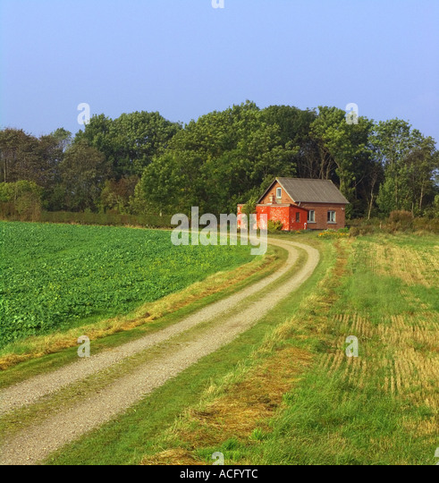 Country cottage denmark stock photos country cottage denmark stock images alamy - The jutland small house ...