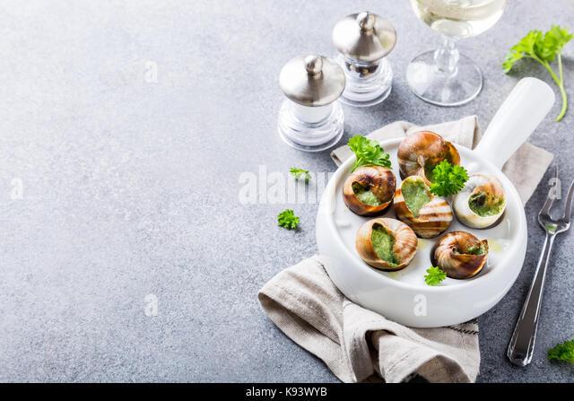 Snail Dish Stock Photos & Snail Dish Stock Images - Alamy