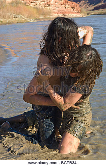 Mud Wrestling Stock Photos Amp Mud Wrestling Stock Images
