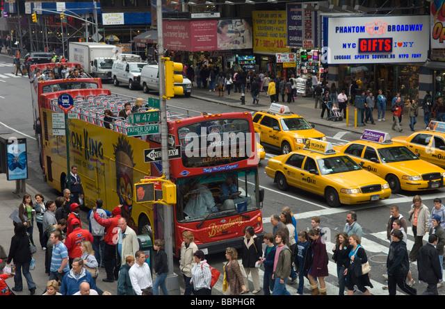 Advertisement On Double Decker Bus Stock Photos