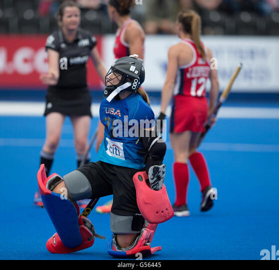 Investec Womens Hockey Champions Trophy 2016 Queen Elizabeth Olympic Park June USA