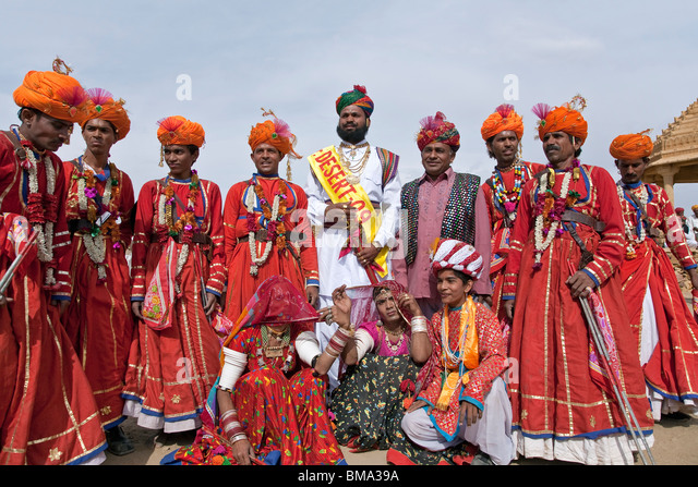 Costumes Of Rajasthan Stock Photos & Costumes Of Rajasthan ...