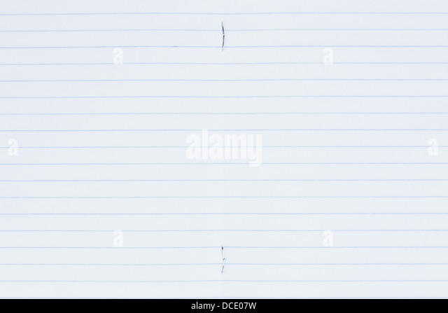 Ruled Page Stock Photos & Ruled Page Stock Images - Alamy